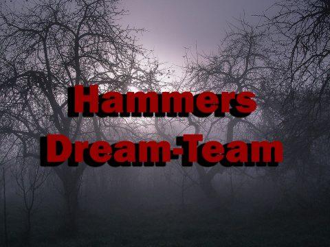 Schauerlich im Nebel: Hammers Dream-Team