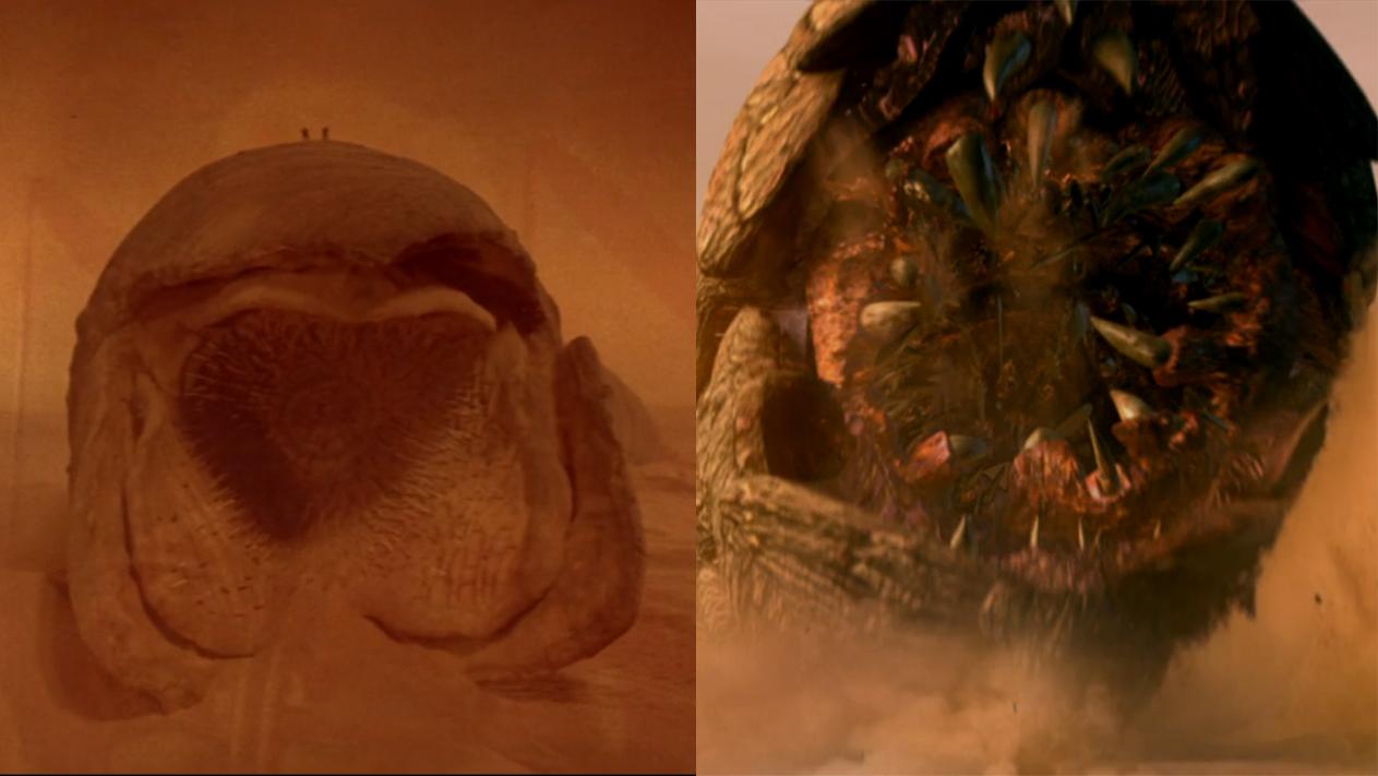 Dune - Sandwürmer